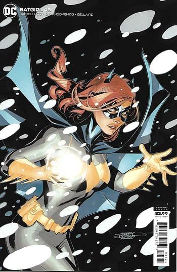 Batgirl #45 Variant Cover