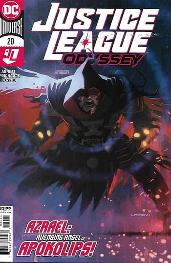Justice League Odyssey #20 Main Cover