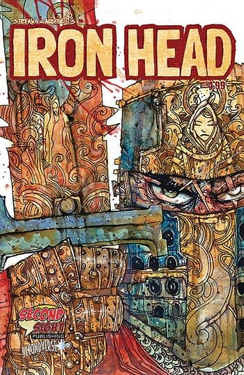 Cover image for IRON HEAD ONE SHOT CVR A CARDOSELLI (MR)
