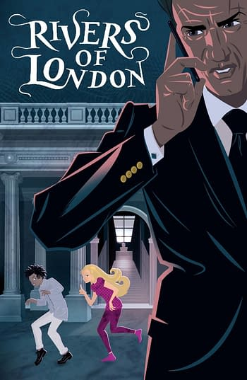 Cover image for MONDAY MONDAY RIVERS OF LONDON #3 CVR A RIAN HUGHES (MR)