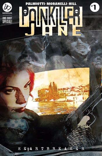 Painkiller Jane Returns From Jimmy Palmiotti and Romina Moranelli