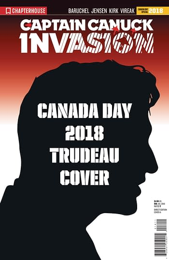 Trump and Trudeau Come to Chapterhouse in July 2018 Solicits