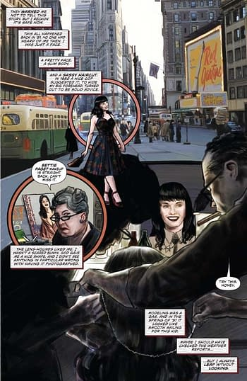 David Avallone Talks Bringing Bettie Page to Comics