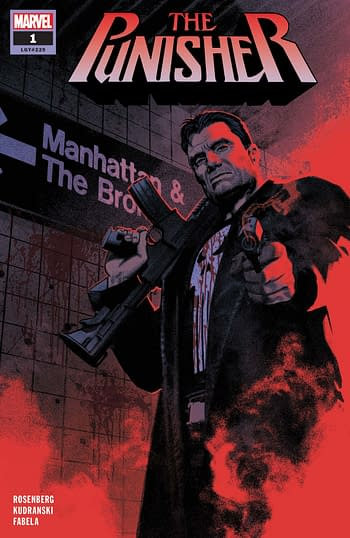 Punisher #1 by Matthew Rosenberg and Szymon Kudranski Sells Out, Goes to Second Printing