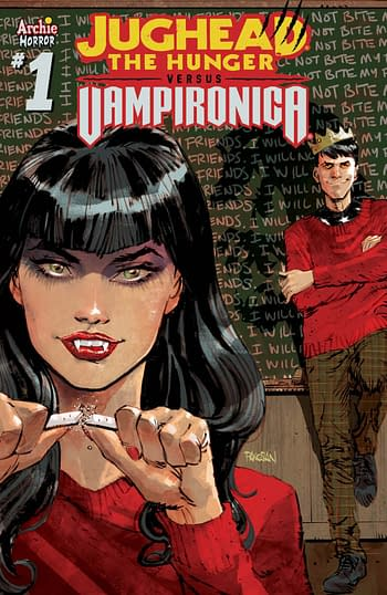 Jughead The Hunger Vs Vampironica in Archie Comics April 2019 Solicits