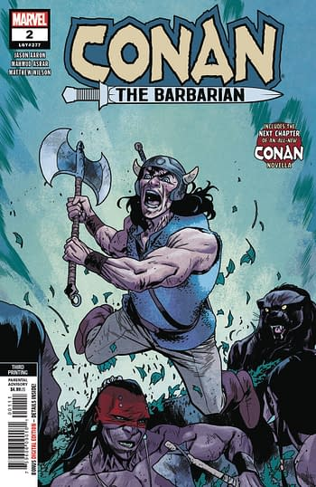 Immortal Hulk #1 Goes to Fourth Printing, Savage Sword of Conan #1 to Second,…