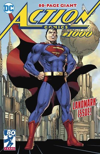 DC Comics Liquidates Action Comics #1000 to Retailers