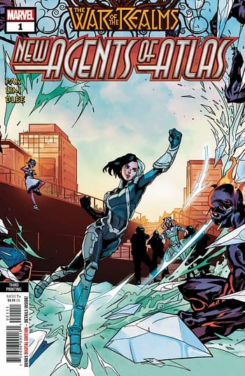 Little Bird #1 Gets 4th Printing, New Agents Of Atlas, Star Wars: Galaxy's Edge Get 3rd Printings, Wolverine's Daughter Gets a 1:25