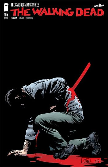 Another Major Death in The Walking Dead #195