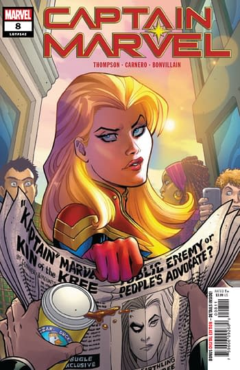 Speculator Corner: There's Something About Captain Marvel #8...