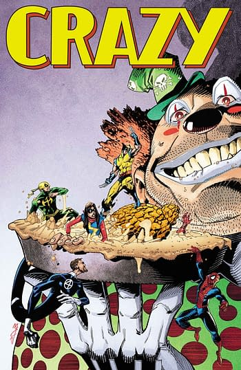 As DC Knocks BAck MAD Magazine, Marvel Revives CRAZY