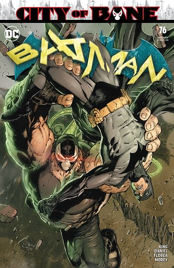 There's More Bane in Harley Quinn #64 Than in City Of Bane Batman #76