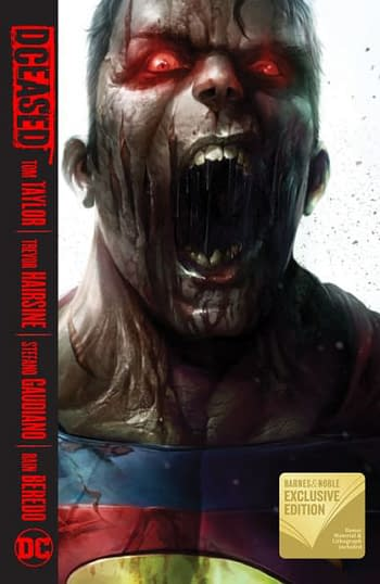 Barnes & Nobles Exclusives Strike Again! – DC Continues the Trend with 4 new Exclusive Hardcovers, & Titan Comics joins too!