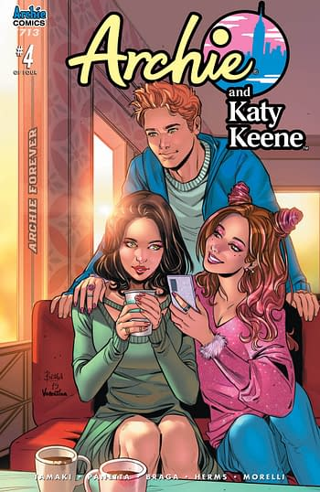 Sabrina #1 and Betty and Veronica YA OGN in Archie Comics April 2020 Solicitations