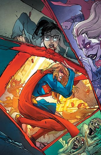 DC Relegates Final Two Issues of Supergirl to Digital-Only.