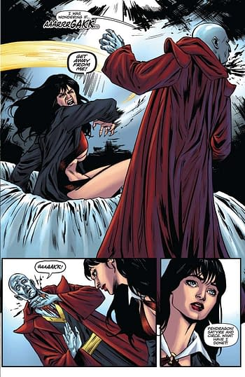 Interior art from Vengeance of Vampirella #7