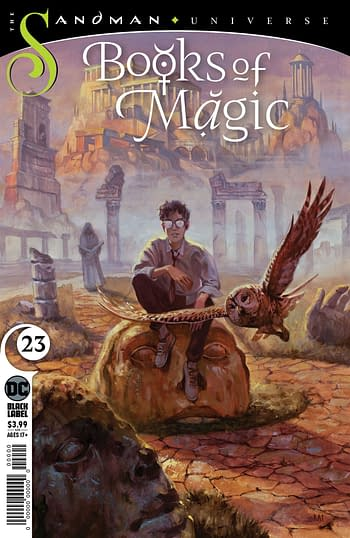 Shazam and Books Of Magic End in September.