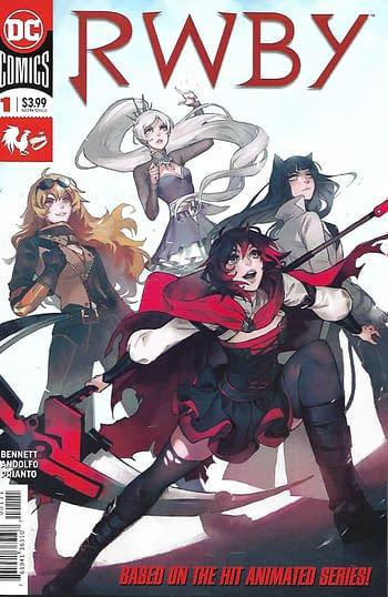 RWBY #1 Main Cover