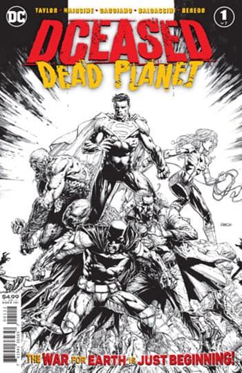 DCeased: Dead Planet #1 Gets 3rd Printing, Death Metal #1 Gets 2nd.