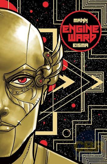 Engineward cover. Credit: Vault Comics.