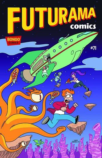 Futurama Comics #71 Cover