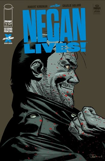 Comic Stores Get Free Negan Lives Second Printings With Fire Power #2.