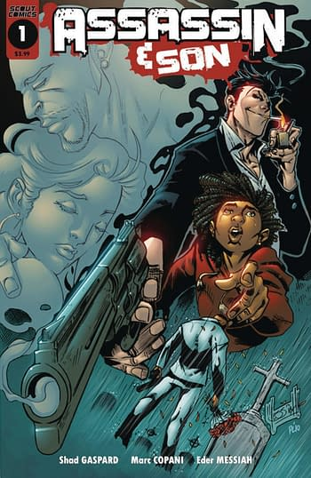 Children On The Grave and Frank On The Farm in Scout November 2020 Solicits