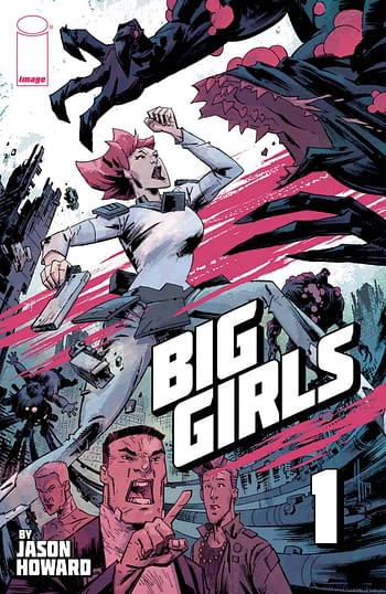 Big Girls #1 Cover