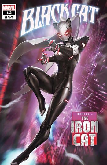 Black Cat #12 Variant Cover
