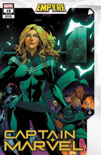 Captain Marvel #18 Variant Cover