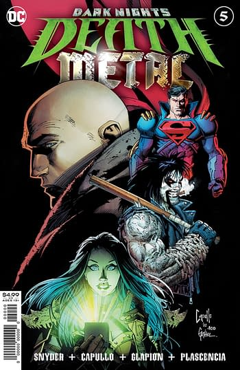 DC Introduces A World Of Evil Super-Pets For Death Metal in November