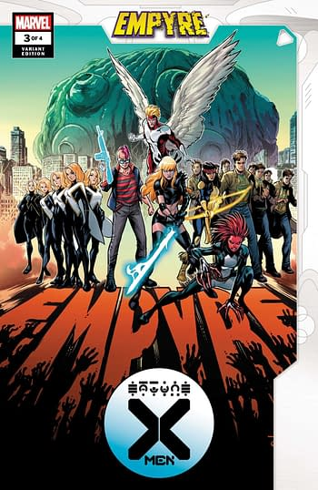 Empyre X-Men #3 Variant Cover