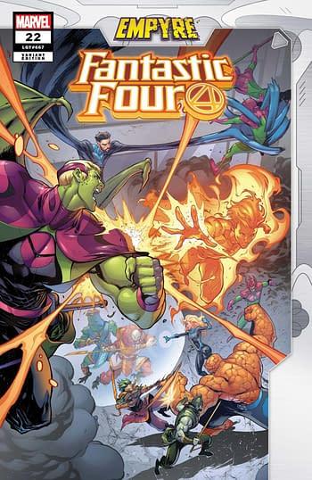 Fanatastic Four #22 Variant Cover