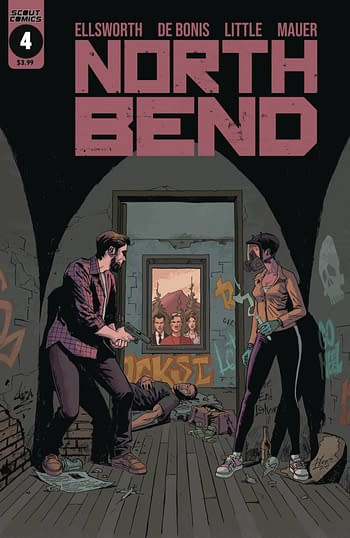 North Bend #4 Cover