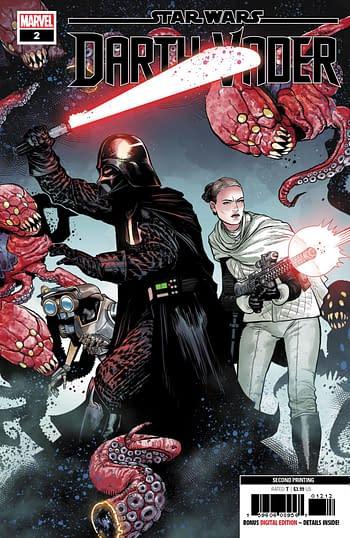 Star Wars Darth Vader #2 Second Print Variant Cover