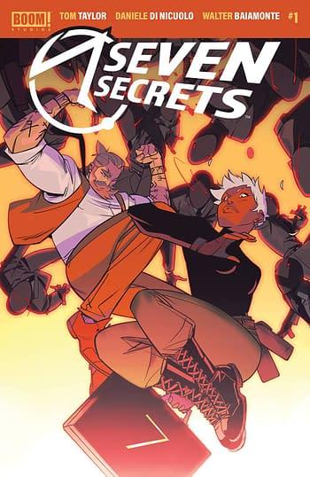 Seven Secrets #1 Main Cover