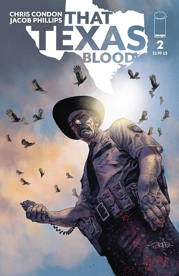 That Texas Blood #2 Cover B