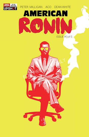 American Ronin #1: If Shadowrun Was A Comic, It'd Be American Ronin