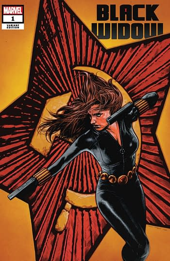 Black Widow #1 Charest Variant Cover