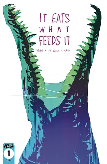 It Eats What Feeds It #1 2nd Print Variant Cover