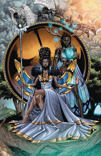Niobe She Is Death #4 Main Cover