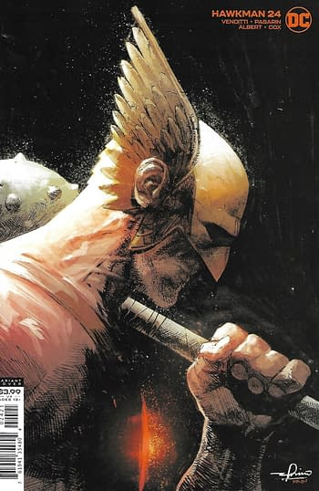 DC Hawkman #24 Variant Cover