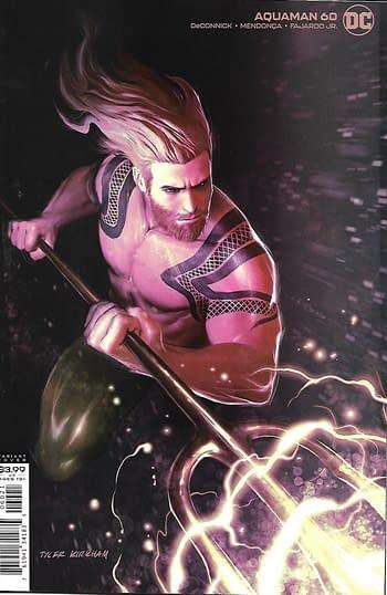 DC Aquaman #60 Variant Cover