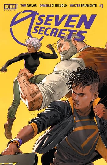 Seven Secrets #1 2nd Print Variant Cover