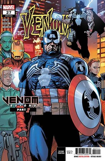 Venom #27 2nd Printing Variant Cover