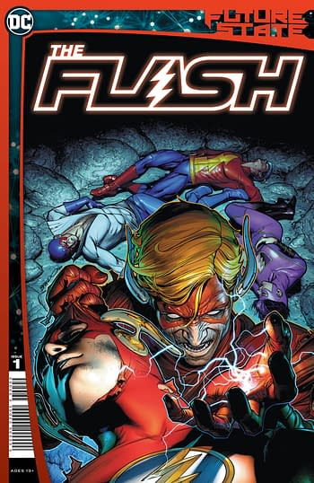 DC Comics January 2021 Solicitations Flash cover