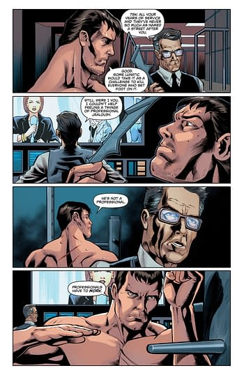 Obscure Comics: Batman V Superman: Dawn of Justice Upstairs/Downstairs