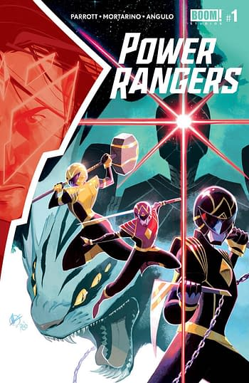 Power Rangers #1 and Darth Vader #7 Top Advance Reorders