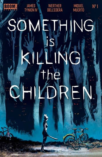 Foil Seventh Printing Of Something Is Killing The Children #1 For LCSD