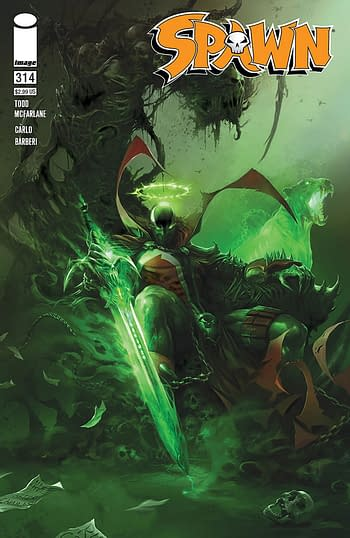 Spawn #314 Dominates Advance Reorders